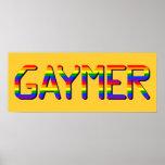 Gaymer Poster