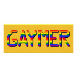 Gaymer Posters