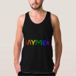 Gaymer Rainbow Pride Colors Tank