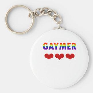 Gaymer (v1) keychain