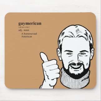 GAYMERICAN MOUSE PAD