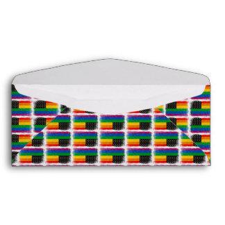 Gaymerican Pride Flag Envelopes