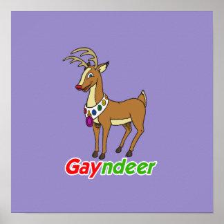 GAYNDEER POSTER