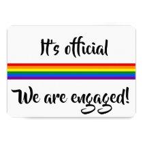 #gaypride engagement notice invitation