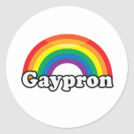 GAYPRON - .png Pegatina Redonda