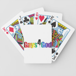 Gays4God Bicycle Playing Cards