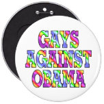 Gays contra Obama Pin