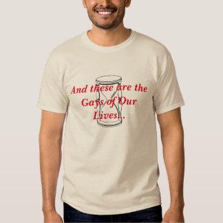Gays de la camiseta de nuestros de las vidas poleras