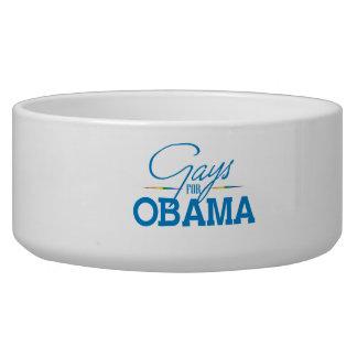Gays for Obama Dog Bowl