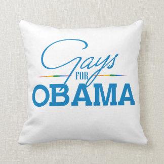 Gays for Obama Throw Pillows
