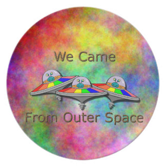 Gays From Space Dinner Plate