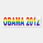 Gays para la pegatina para el parachoques 2012 de  pegatina de parachoque