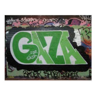Gaza Graffiti Postcard