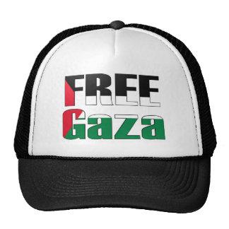 Gaza libre gorros bordados