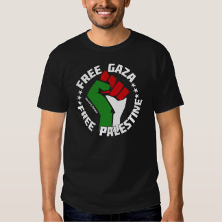 gaza libre libera Palestina Playeras