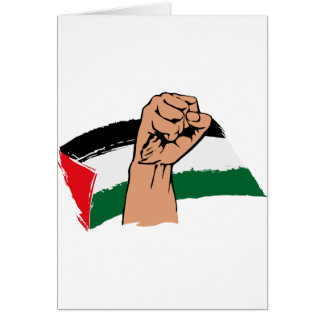 Gaza libre libera Palestina Tarjeta De Felicitación