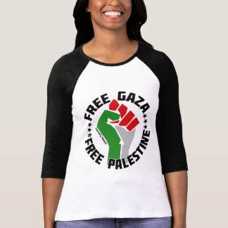 gaza libre libera Palestina Tshirt