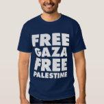 GAZA LIBRE, PALESTINA LIBRE CAMISAS