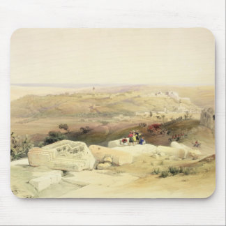 Gaza, plate from Volume II of 'The Holy Land' Mouse Pad