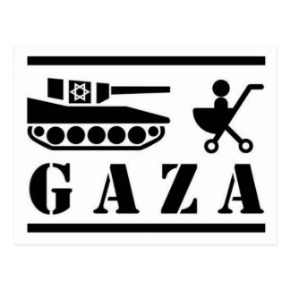 GAZA POSTCARD