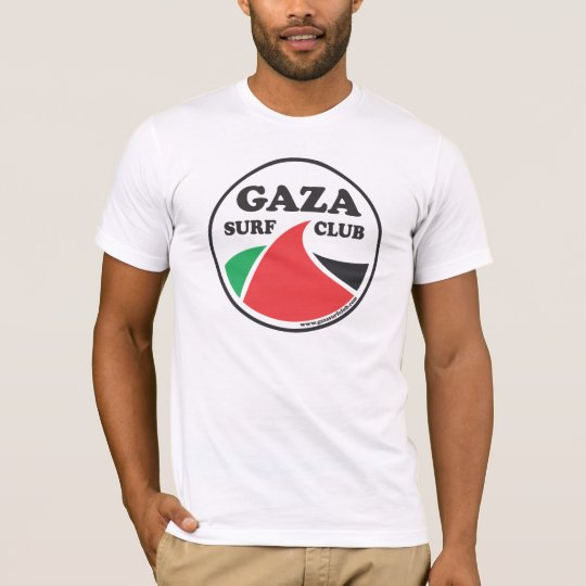 6fe79d3fb5f Gaza Surf Club premium T-Shirt | Zazzle.com