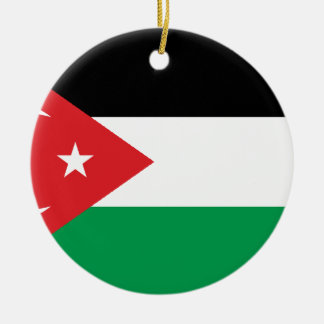 Gaza Turkey solidarity flag Christmas Ornaments