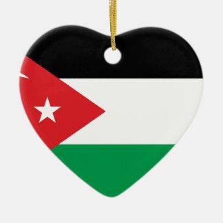 Gaza Turkey solidarity flag Christmas Tree Ornaments