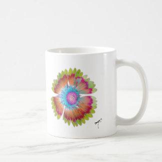 Gazania Silhouette Mug, Rainbow