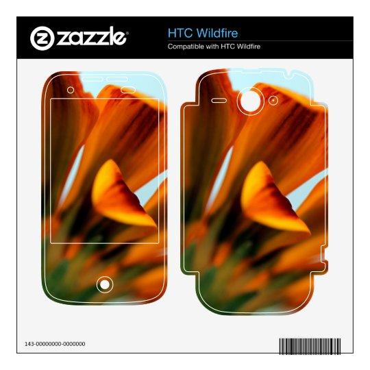 Gazania Skins For HTC Wildfire