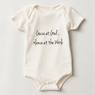 Gaze At God: Christian Baby Gift Onsie Baby Bodysuit