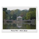 Gazebo at Piedmont Park - Atlanta, GA Greeting Card