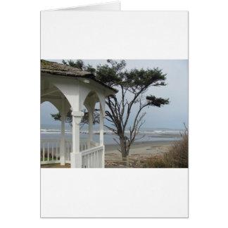 Gazebo at the Beach Card