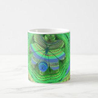 GAZEBO BALL ROOM MANDELBULB 3D FRACTAL IMG COFFEE MUG