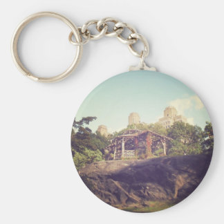 Gazebo, Central Park, New York City Keychain