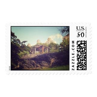 Gazebo, Central Park, New York City Postage