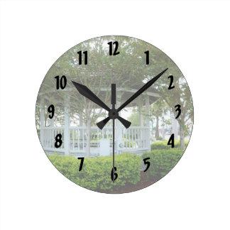 gazebo Fort Pierce trasero la Florida Reloj Redondo Mediano