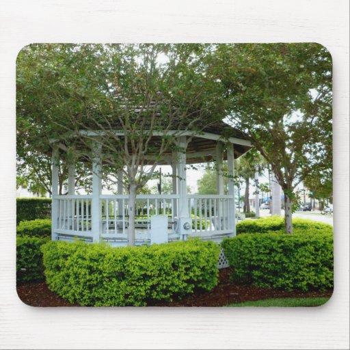 gazebo Fort Pierce trasero la Florida Alfombrillas De Ratones