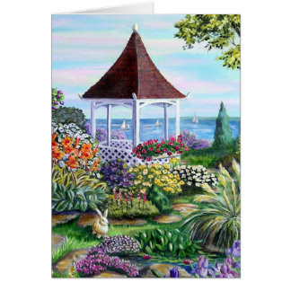 Gazebo garden card