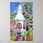 Gazebo Garden Print
