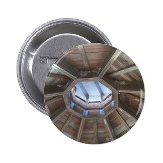Gazebo roof: bird nest near hornets nests button