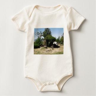 Gazebo with Vines Baby Bodysuit
