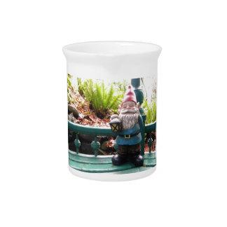 Gazeebo Gnome Drink Pitcher
