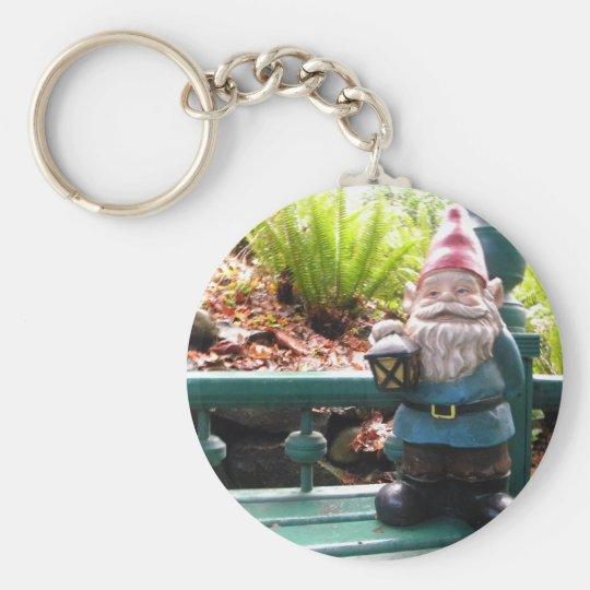 Gazeebo Gnome Keychain