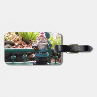 Gazeebo Gnome Luggage Tag