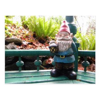 Gazeebo Gnome Post Card