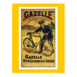 Gazelle Cycles Vintage Bicycle Poster Postcards