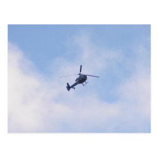 Gazelle Helicopter Postcard