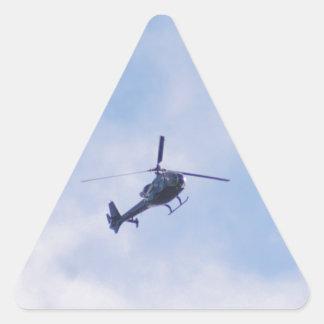 Gazelle Helicopter Triangle Sticker