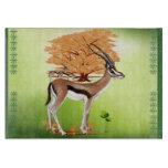 Gazelle n Tree Cutting Board