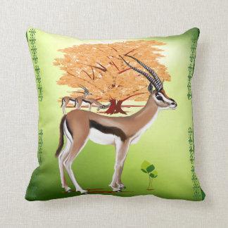 Gazelle n Tree Pillow